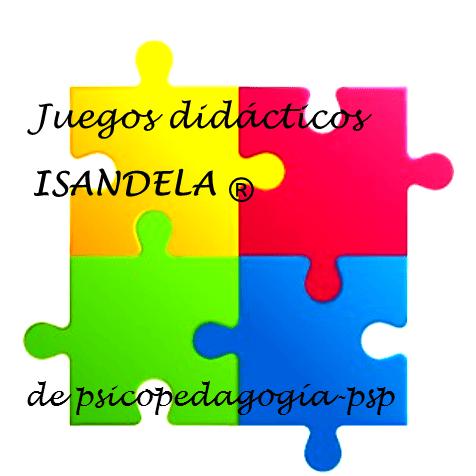 logo de Isandela, juegos didácticos de autor