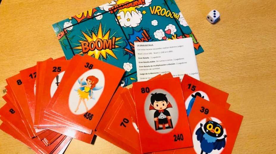 juego LA GRAN BATALLA , Isandela juegos didácticos de autor.