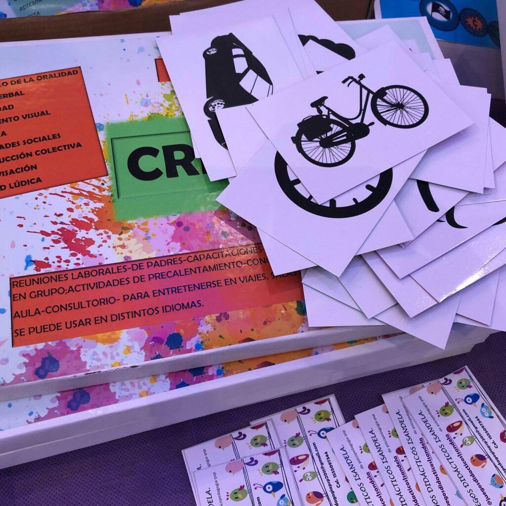 juego CREARE , Isandela juegos didácticos de autor.