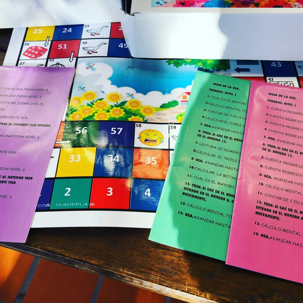 juego DE LA OCA, Isandela juegos didácticos de autor.